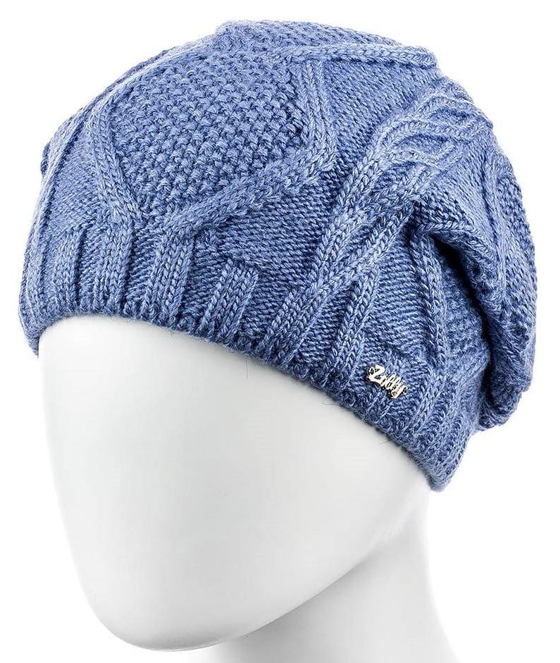Шапка женская Zolly 10 размер 56-59 синяя