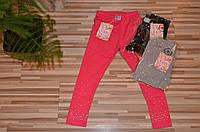 Трикотажные легинсы  для девочек 8-16 лет, фото 1