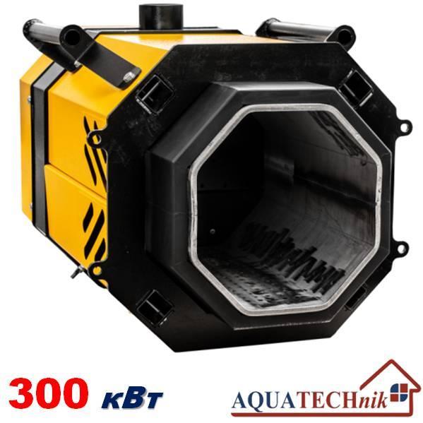 Пеллетная горелка,AQUATECHnik-300,мощность 80-350 кВт.