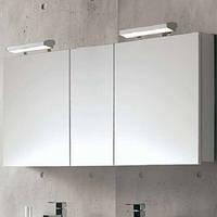 Зеркальный Шкаф 80 Цвет: Белый Royo NIKA 175703