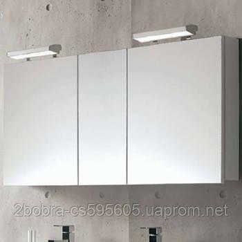 Зеркальный Шкаф 80 Цвет: Белый Royo NIKA 175703, фото 2