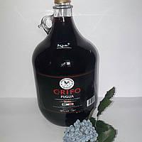 Вино Grifo Puglia Rosso 5L (Грифо Пуглиа красное сухое 5л)
