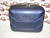 Дорожный бьюти-кейс с креплением на чемодан, как дополнение к чемодану, синий