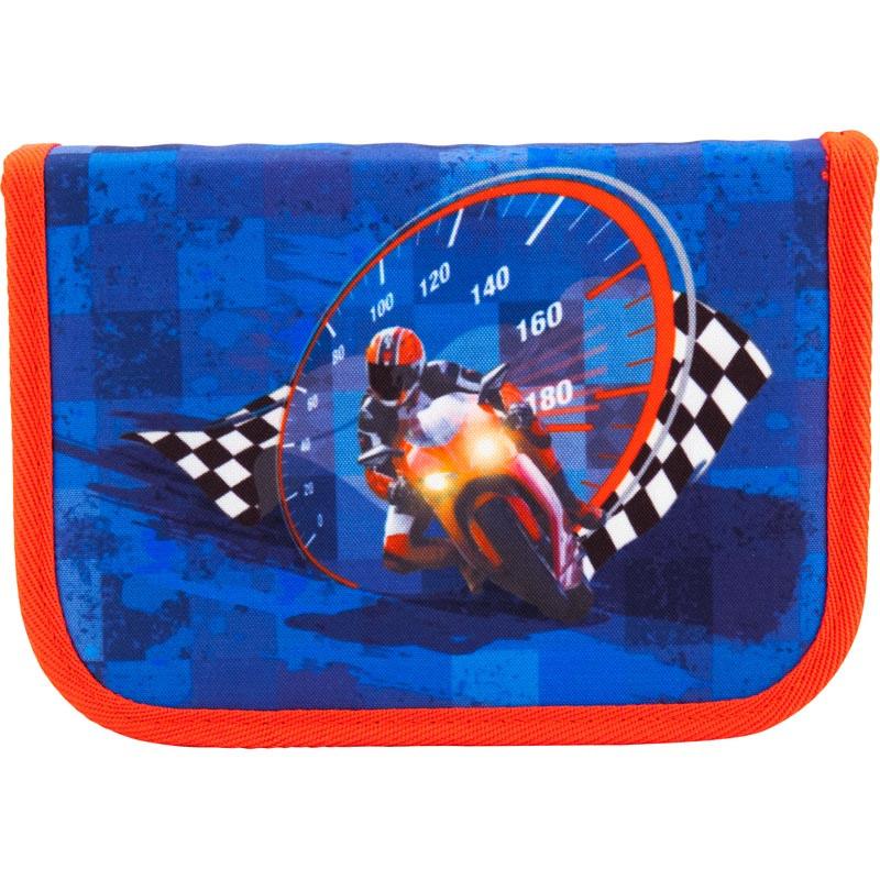 Пенал школьный Kite 621 Motocross K18-621-7