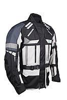 Roleff RO 775 Touring Jacket Grey/Black, S Мотокуртка текстильная защитой