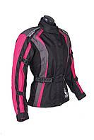 Roleff RO 904 Lady Jacket Black/Purple, XS Мотокуртка текстильная женская с защитой