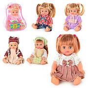 """Кукла """"Оксаночка"""" 6 видов, укр., в рюкзачке 25см (36шт)"""