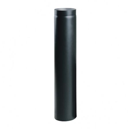 Дымоходная труба Ø160, 100 см, 2мм стальная, Parkanex, Польша