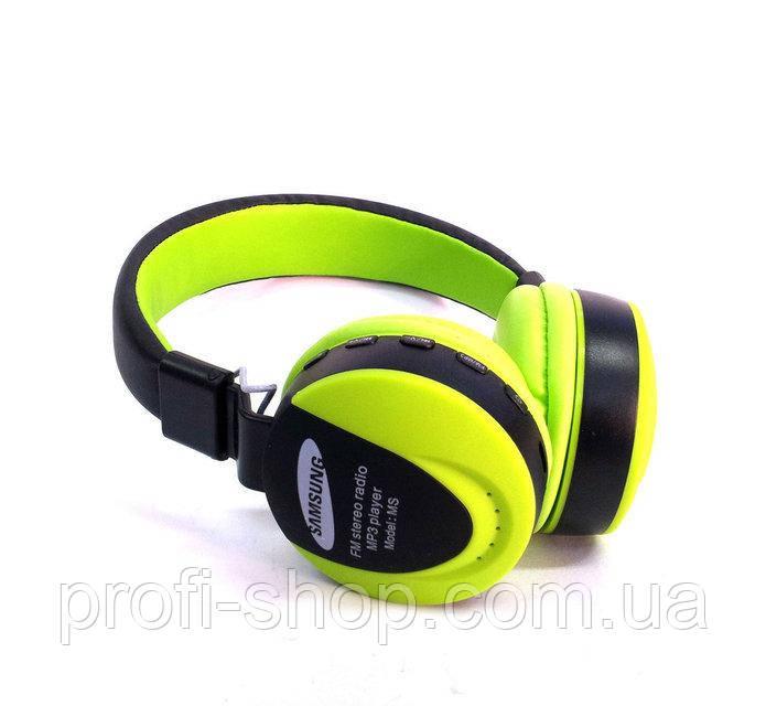 Наушники беспроводные Samsung MS-771E, Bluetooth (блютус) +FM+MP3