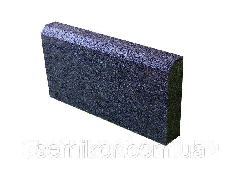 Бордюр резиновый 500х300х70 мм