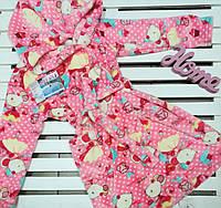 Халат детский махровый ТМ Фламинго