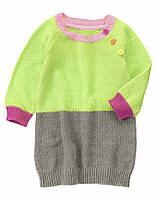 Вязаное платье для девочки  12-18, 18-24 месяцев