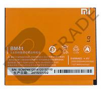 Аккумулятор Xiaomi BM41 (Mi2A/Hongmi 1S/Redmi 1S/Red Rice 1s/Redmi 2), 2000/2050 mAh