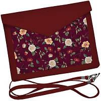 Клатч конверт - Троянди й маки, фото 1