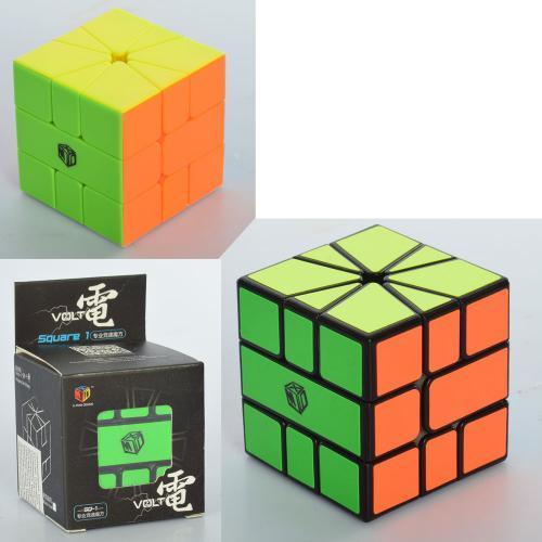 Кубик Рубика 5,5см, 2 вида, в кор. 6,5*6,5*9,5см (24шт)