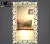 Зеркало настенное Samarkand в черной с белым раме R3, фото 7