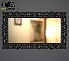 Зеркало настенное Samarkand в черной с белым раме R3, фото 4