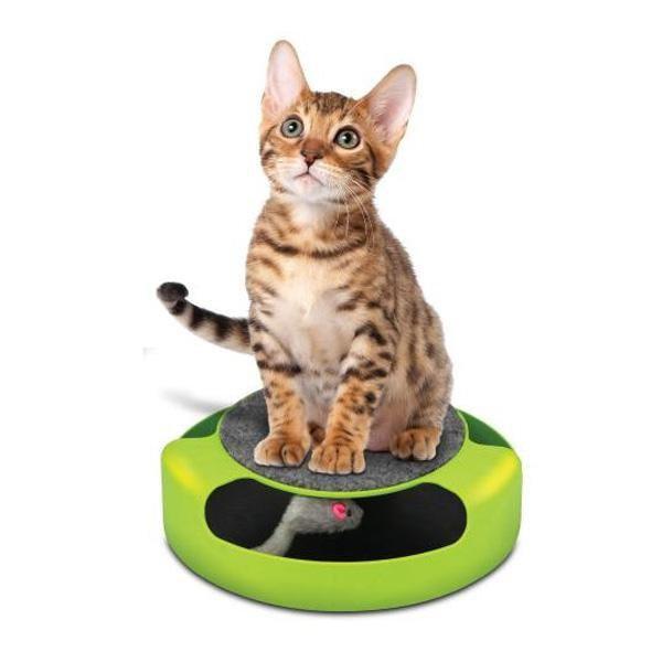 Интерактивная игрушка для котов и кошек поймай мышку CATCH THE MOUSE