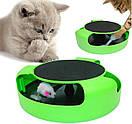Интерактивная игрушка для котов и кошек поймай мышку CATCH THE MOUSE, фото 6