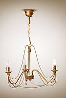 Люстра 3-х ламповая классическая