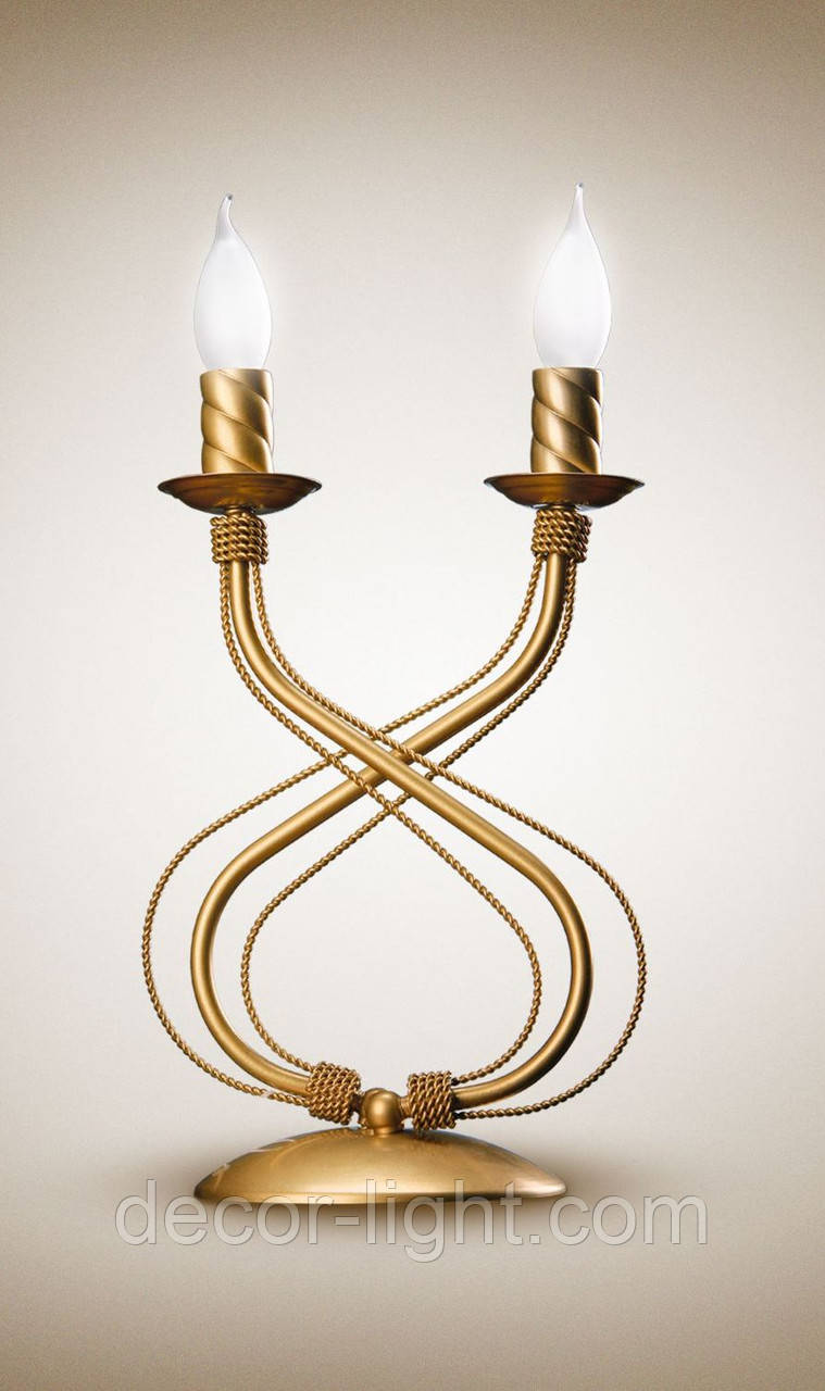 Настольная лампа металлическая 1200