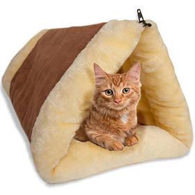 Лежак для кошки | Домик для кота 2 IN 1 KITTY SHACK