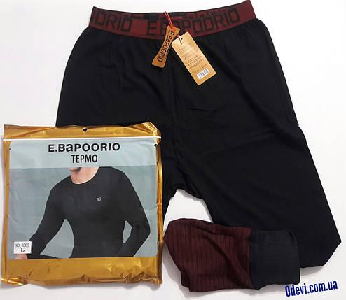 Термо штаны мужские хлопок фирма E.Bapoorio, фото 2