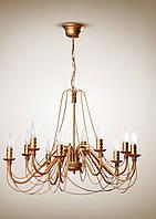 Люстра 10-ти ламповая, для большой комнаты