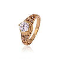 Кольцо ХР Gold filled 18k р. 17
