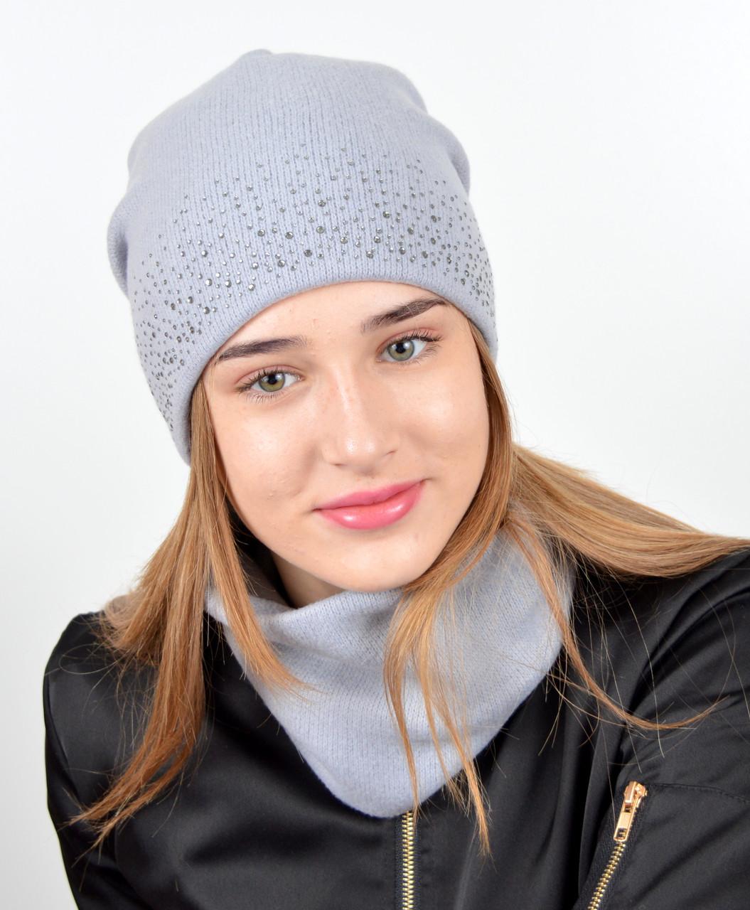 "Молодежный комплект ""Ангора камни""  Серый"