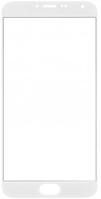 Стекло (для ремонта дисплея) Meizu MX5, белое