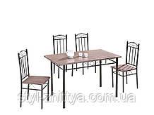 Набір меблів стіл + 4 крісла. Обідній компект