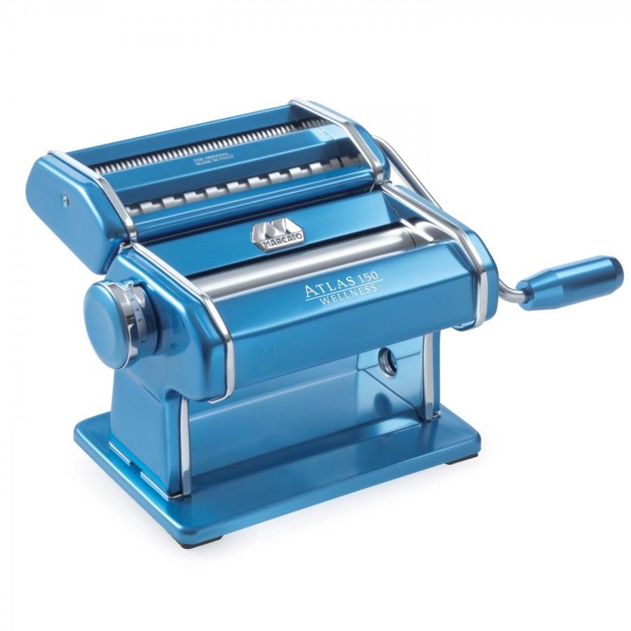 Тестораскатка - лапшерезка Marcato Atlas 150 Light Blue