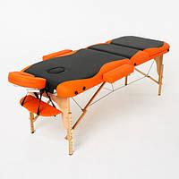 Складной 3-х секционный массажный стол Titan, фото 1
