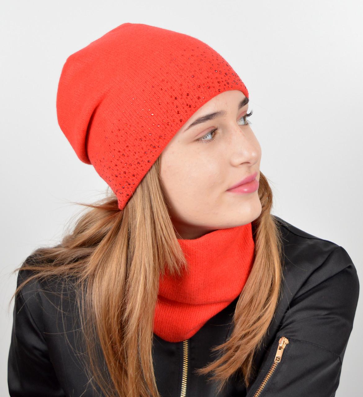 Детский комплект (шапка+хомут) оптом. Купить детские шапки оптом в ... 12b91142e102a