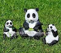 Садовые фигуры Мишки Панды