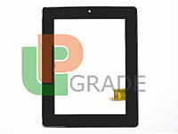 Тачскрин для Prestigio PMP5880D/PMP7880D MultiPad 3G, черный, с передней панелью