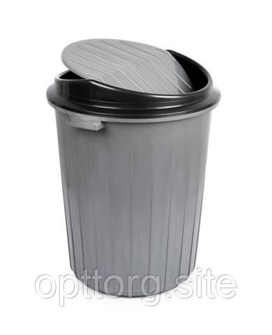 Бак для мусора 50 л Topcu TP-2232