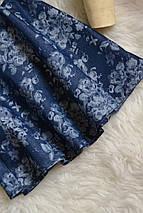 Новая джинсовая юбка в цветочный принт Denim Co, фото 3