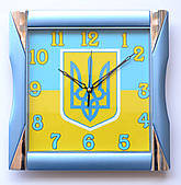 Часы настенные  Украинская символика 1
