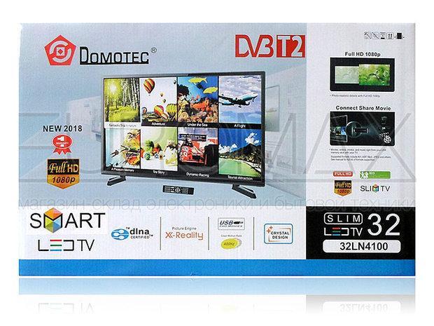 "Телевизор Domotec TV 32"" 32LN4100 DVB-T2 / SMART / ANDROID RAM-1GB MEM-8GB"