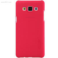 Чехол Nillkin Super Frosted Shield для Samsung Galaxy A5 (A500) bright red + защитная плёнка