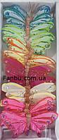 """Большой набор бабочек""""крапивница"""" из перьев на магните (1 комплект-24шт). , фото 1"""