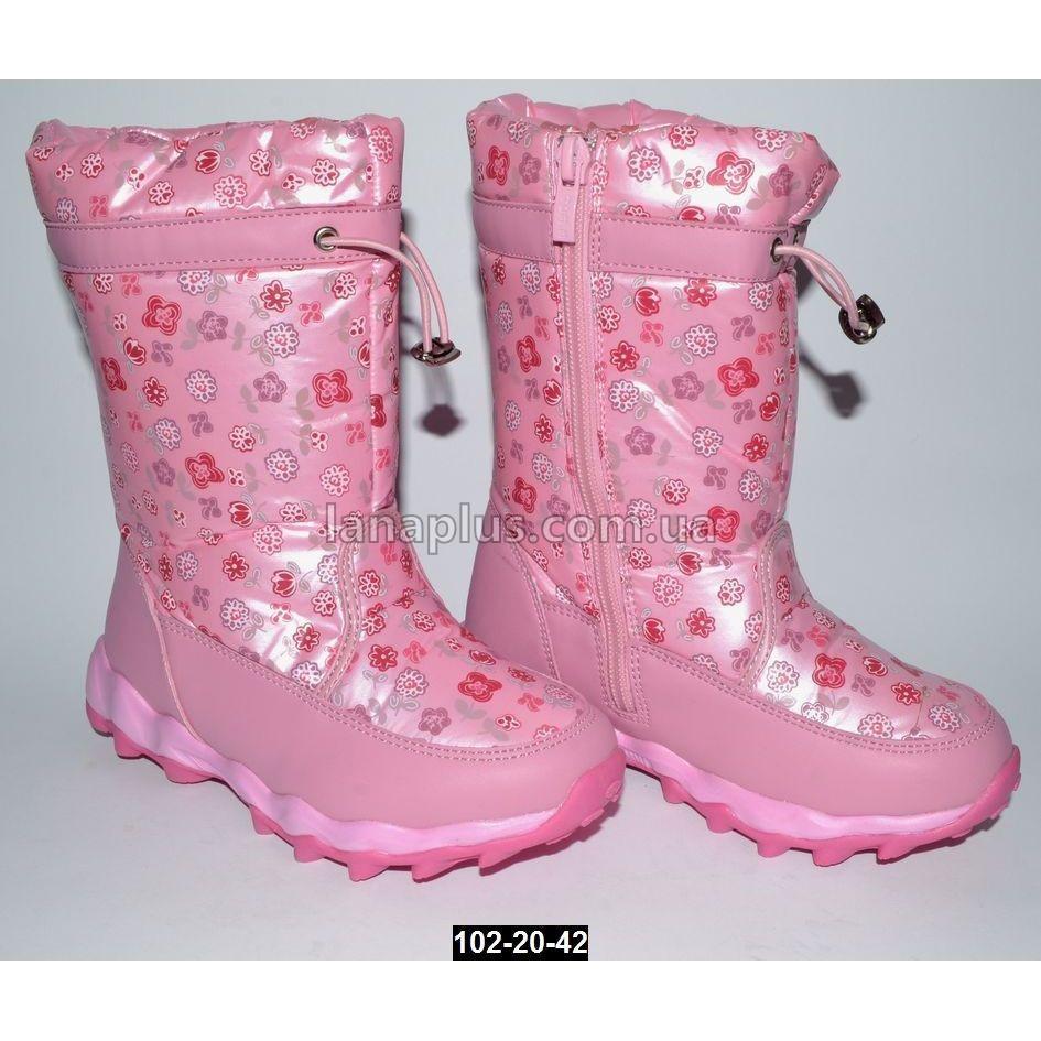 Зимние сапоги для девочки Том.м, 30 размер (19.2 см), непромокающие дутики