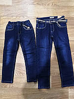 Джинсовые брюки утепленные для мальчиков Seagull оптом, 116-146 рр