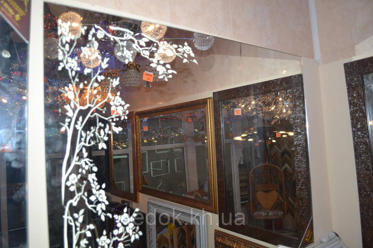 Зеркало с подсветкой для ванной Lilia2 80*60см