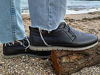 Натуральная кожа! Мужские туфли Goess полуспорт Натуральная кожа