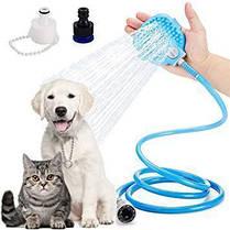 Перчатка-душ для купания домашних питомцев   Щетка для животных AQUAPAW, фото 3