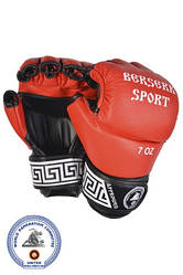Перчатки BERSERK FULL for Pankration approved WPC 7 oz red