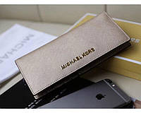 Женский золотистый кошелек в стиле Michael Kors (497), фото 1